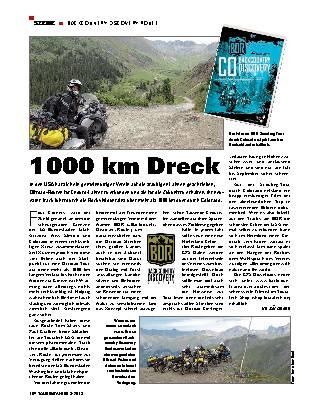 1000 km Dreck