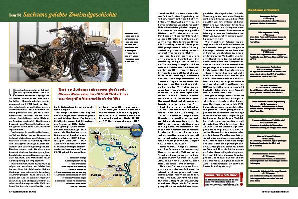Mit dem Motorrad auf Geschichtsreise (Teil 5)