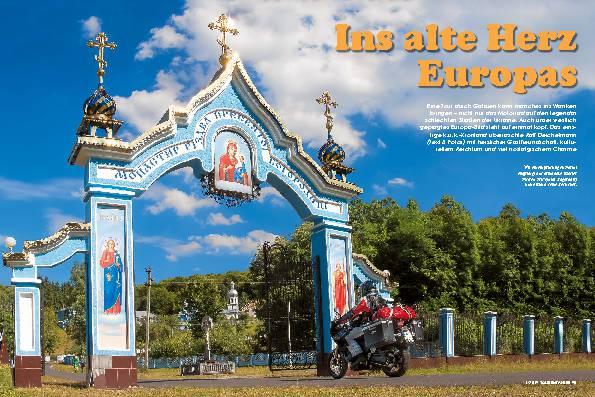 Ins alte Herz Europas
