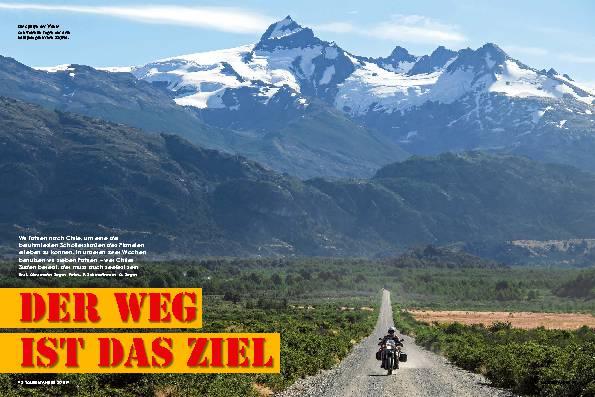 Chile: Auf zwei Rädern und diversen Fähren