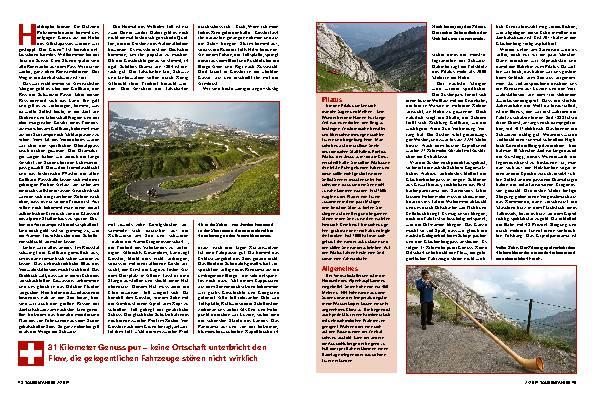 Höhenflug ins Herz der Schweiz