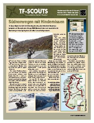 Südnorwegen mit Hindernissen