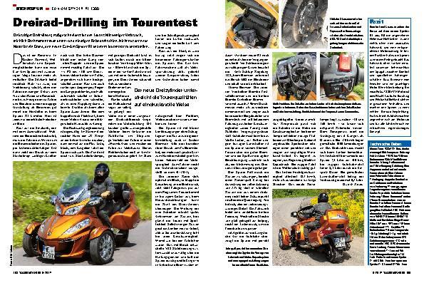 Dreirad-Drilling im Tourentest