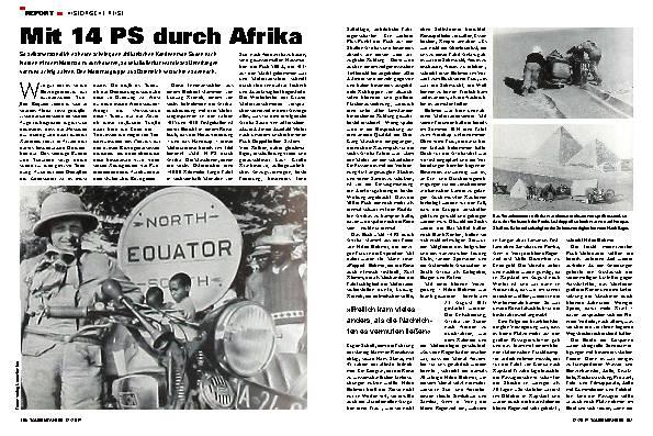 H. Böhmer – Mit 14 PS durch Afrika