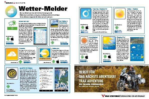 Wetter-Melder