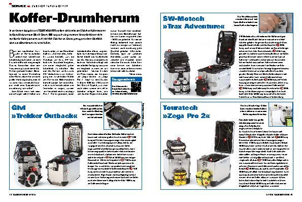 Koffer-Drumherum