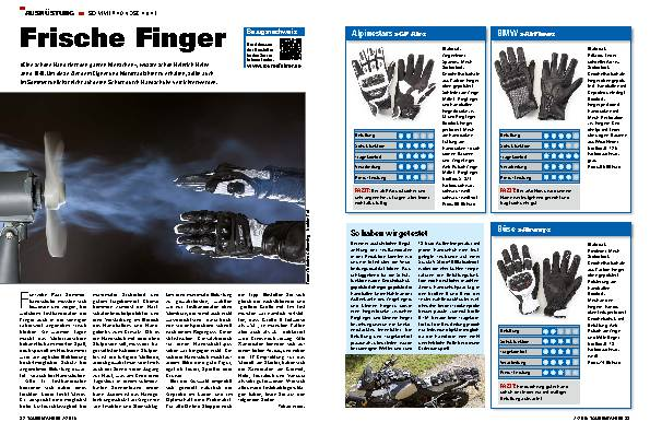 Frische Finger