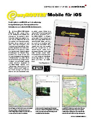 easyROUTES Mobile für iOS