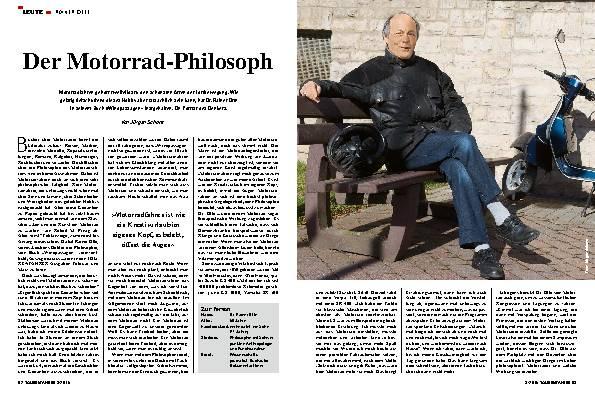 Der Motorrad-Philosoph