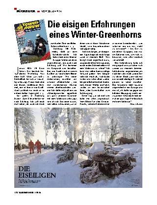 Die eisigen Erfahrungen eines Winter-Greenhorns