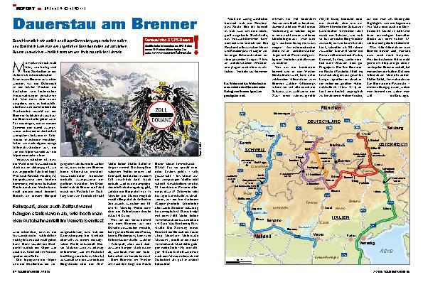 Dauerstau am Brenner