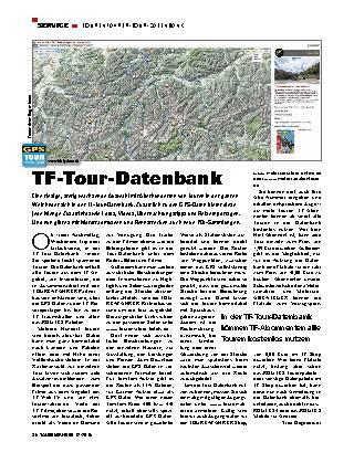 TOURENFAHRER-Tour-Datenbank