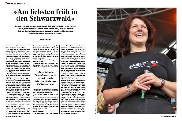 »Am liebsten früh in den Schwarzwald«