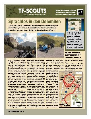 Sprachlos in den Dolomiten