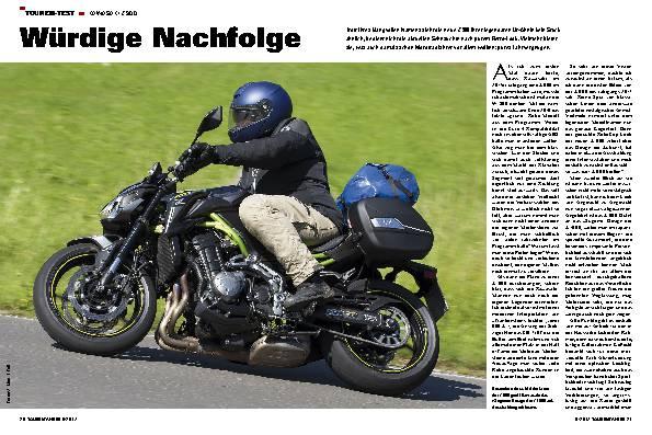 Tourenfahrer Motorradreise Motorradtests Zubehor