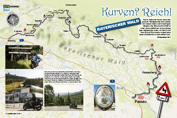 Kurven? Reich! Bayerischer Wald