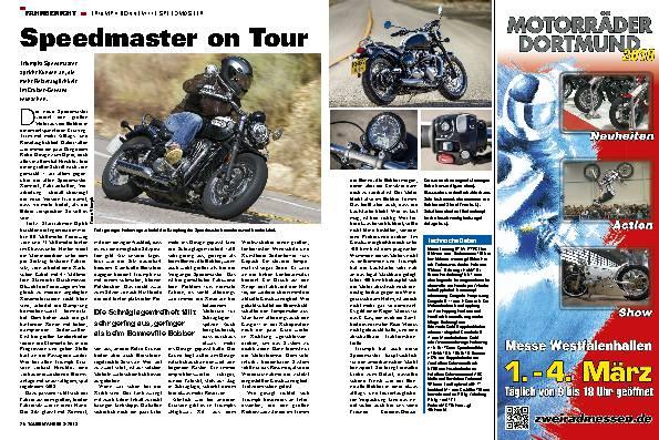 Speedmaster on Tour