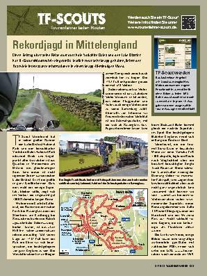 Rekordjagd in Mittelengland