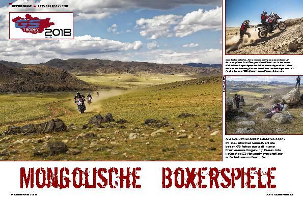 Mongolische Boxerspiele