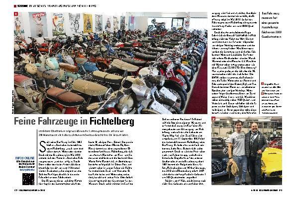 Feine Fahrzeuge in Fichtelberg