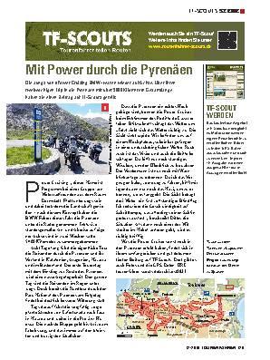 Mit Power durch die Pyrenäen