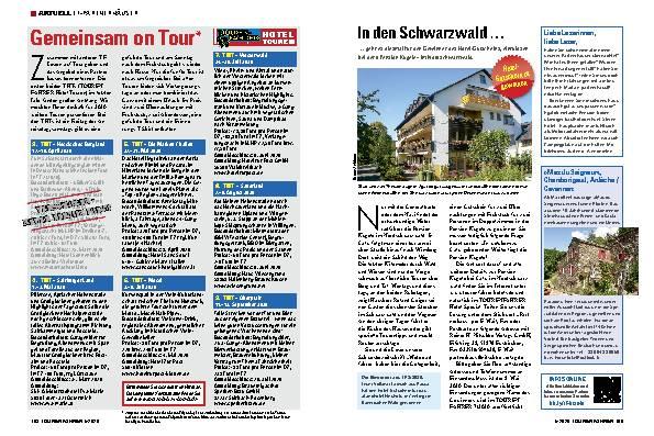 In den Schwarzwald ...